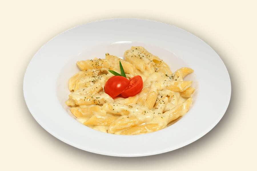"PENNE WITH CHEESE ""QUATRO FORMAGGI"" (1/350)"