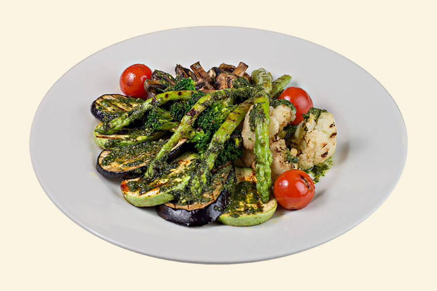 VEGETABLES WITH SAUCE PESTO (1/200)