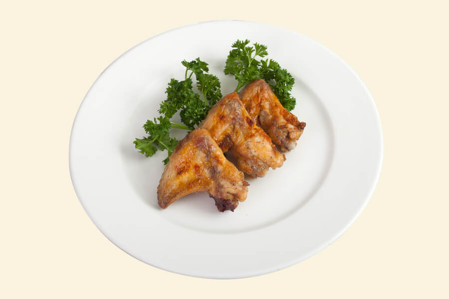 GRILLED CHICKEN WINGS (1/100)