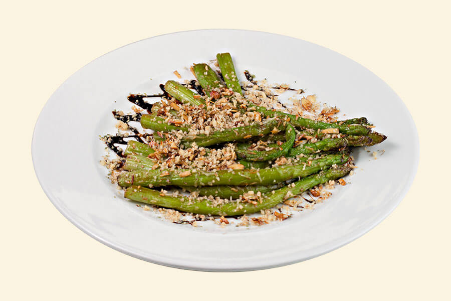 ASPARAGUS WITH NUTS (1/150)